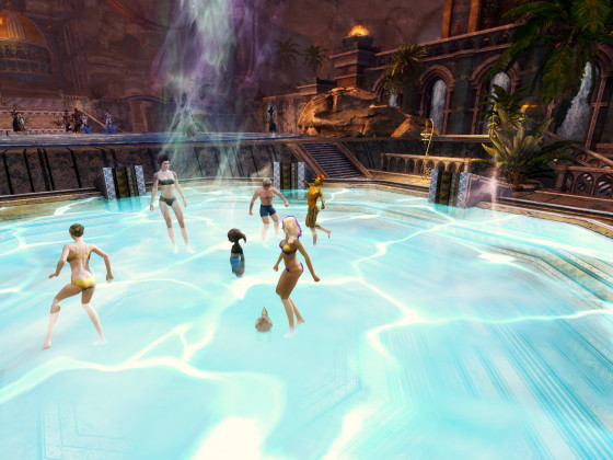 Poolparty in Ahdashim