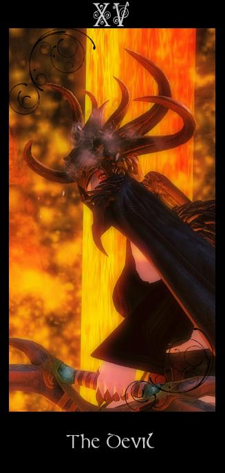 Tarot ~ The Devil - Alternativversion