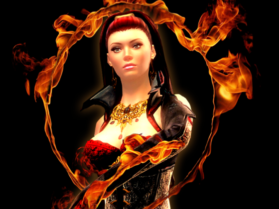 Sheryna Stark, Gräfin von Flammenfels