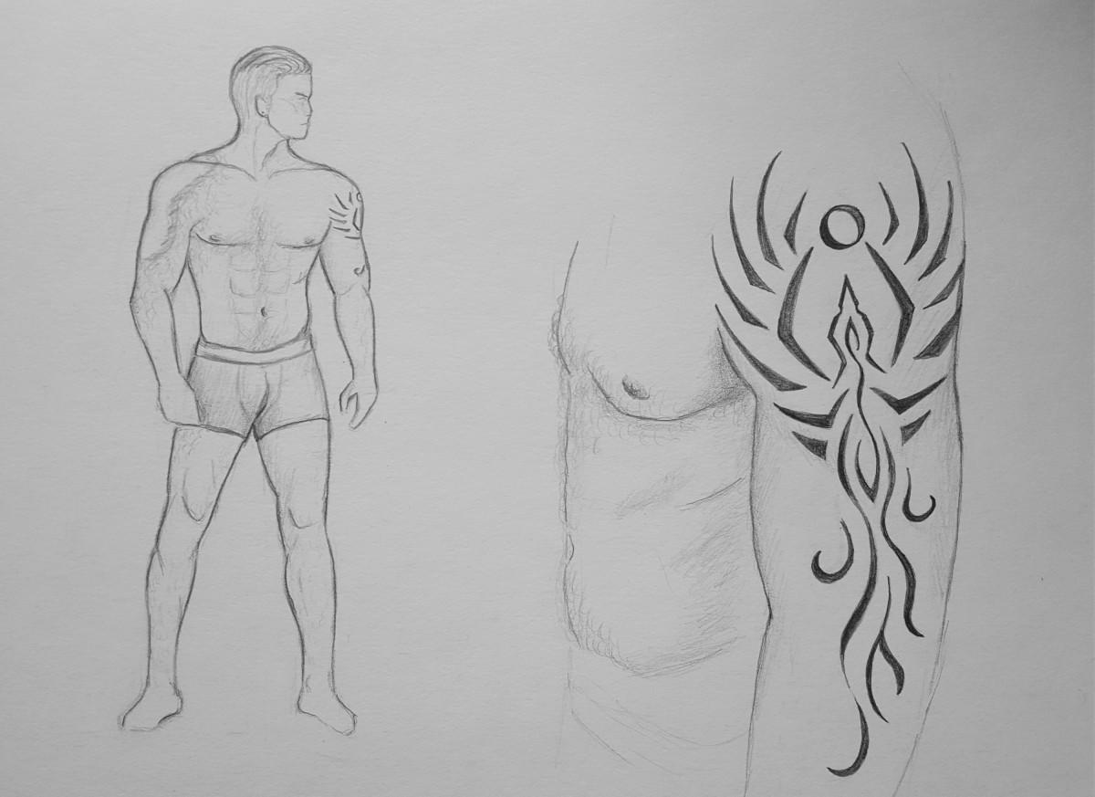 Larion Körperbau