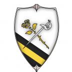 Das Wappen der Rosengarde