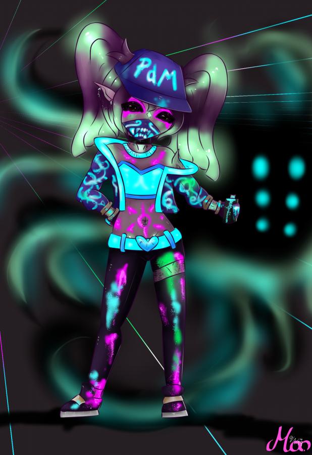KD/A Mary UV Version