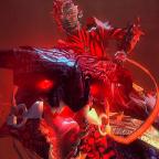 Raptor in rot