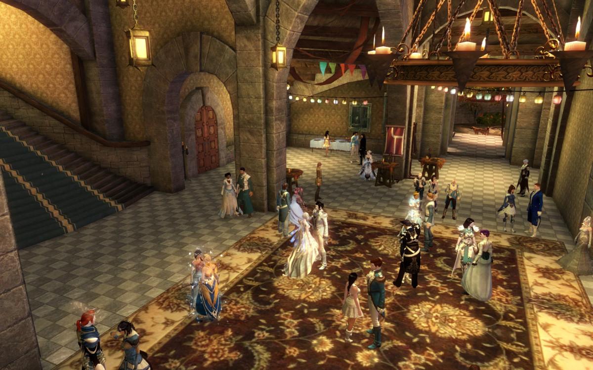 Rurikhallenball- Tanz unter winterlichem Sternenhimmel