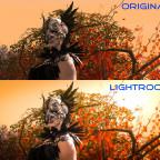 Lightroom Testbild Vergleich